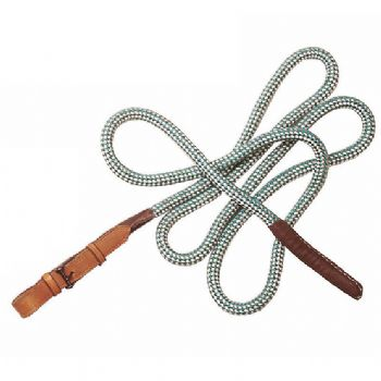 2 metre soft rope with leather billet